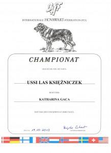 USSI Las Ksiezniczek IHF Ch